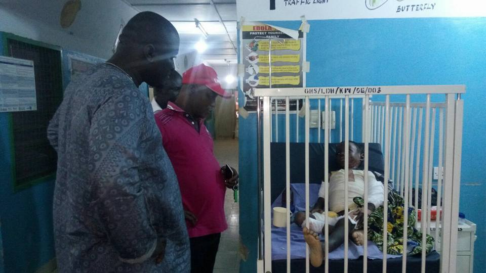 Patients Sleep on Empty Beds at Lawra Hospital