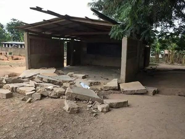 Pull Down Killer School Building-MP Demands