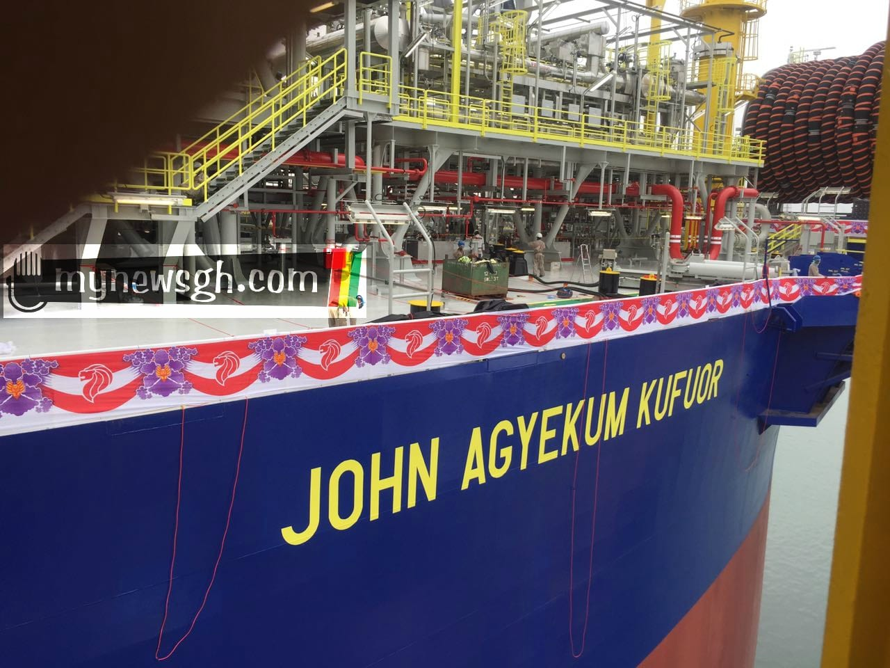 Revealed: FPSO John Kufuor to be commissioned this week