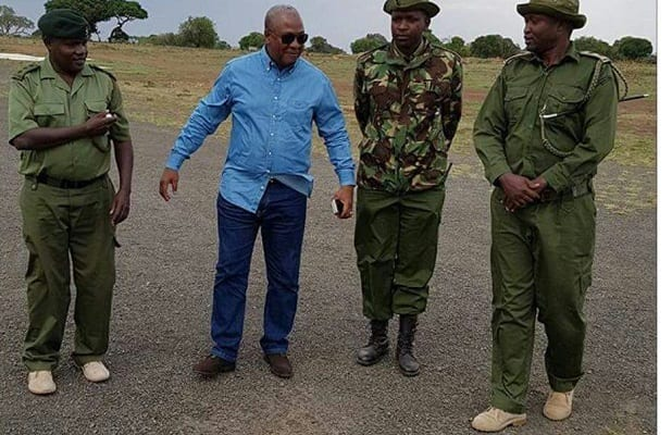 PHOTOS: Mahama Visits Maasai Mara Game Reserve in Kenya