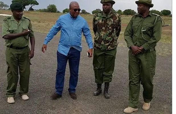 PHOTOS: Mahama Visits Maasai Mara Game Reserve in Kenya