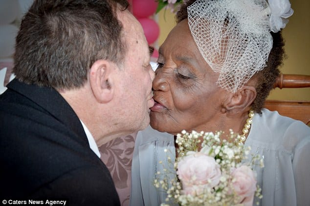 'World's oldest fiancee' engaged to her 66-year-old toyboy