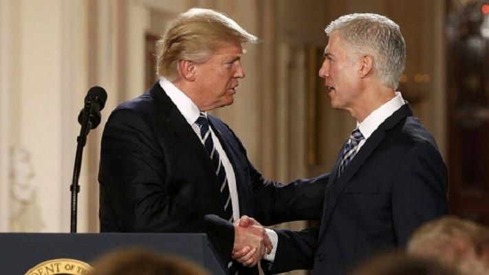 Trump picks Neil Gorsuch as nominee for Supreme Court