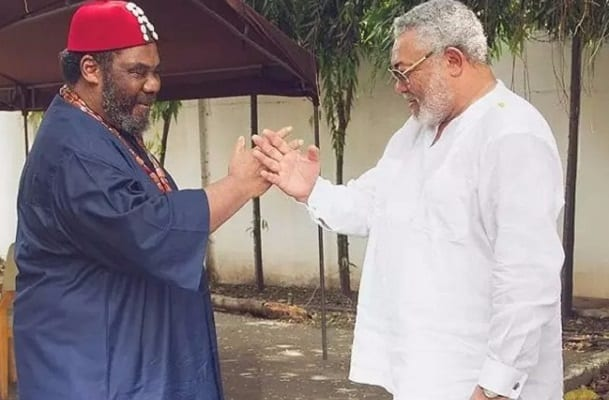 Rawlings is my brother- Nollywood Actor Pete Edochie