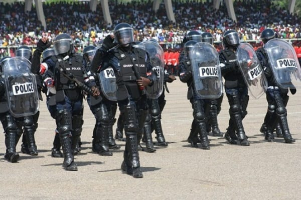 Ghana Police Service Announces Graduate Enlistment