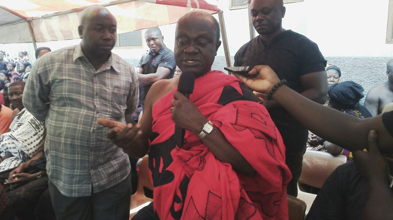 Gov't Gives GH¢ 7,000 each to bereaved families of Kintampo disaster