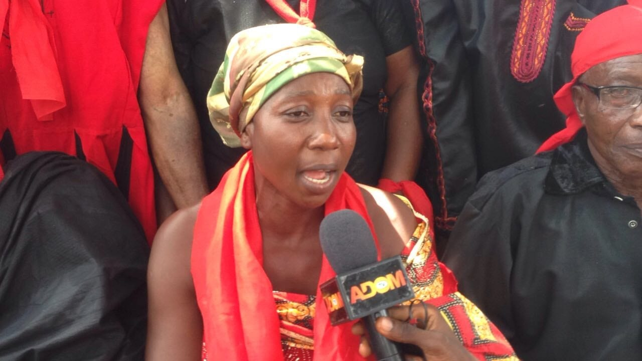 Queen Mother Leads Residents to Fight Galamsey Operations