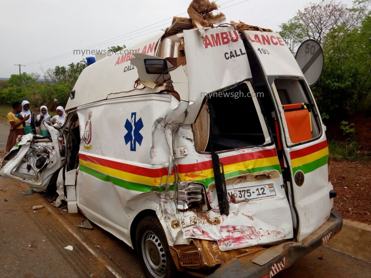 Ambulance accident not linked to Kintampo Disaster-Kintampo Hospital