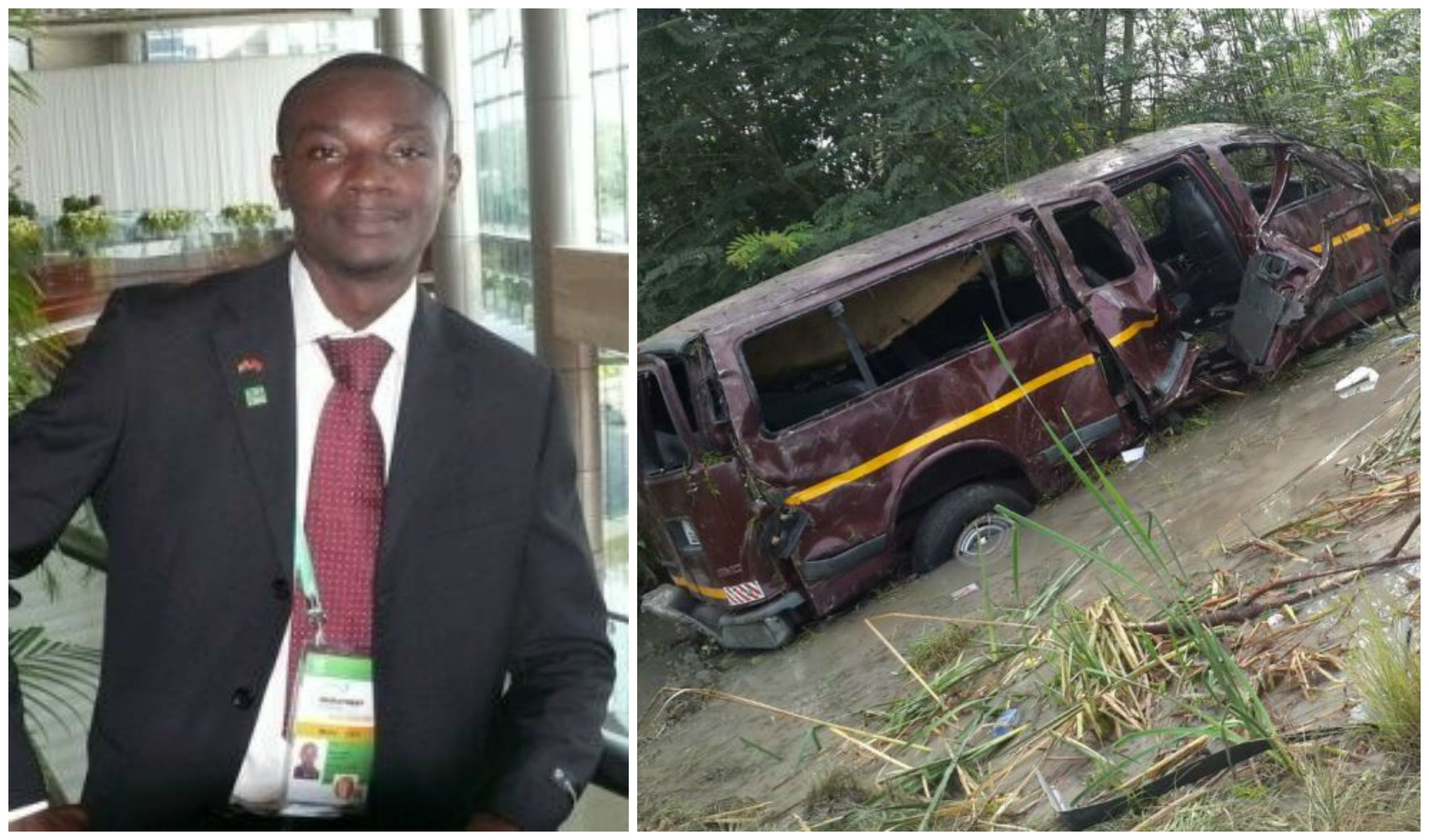 Release report on presidential press corps accident- Listowell Bukarson