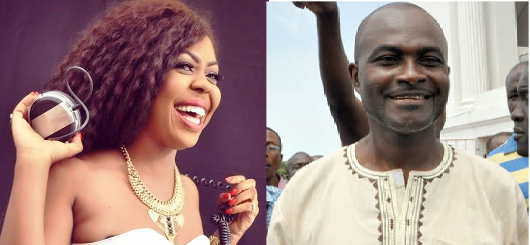 Afia Schwarzenegger Begs Obinim, Kennedy Agyepong others for Forgiveness