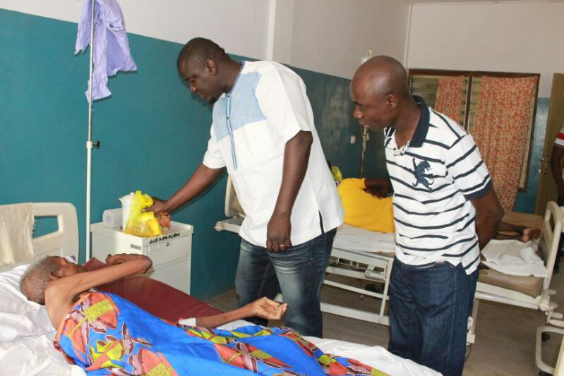 Deputy Minister fetes 150 Sick Persons and Orphans on Easter Day