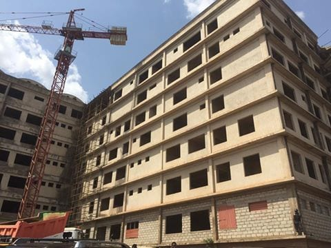 I am very distressed at 44-year-old KATH Abandoned Maternity Block-President