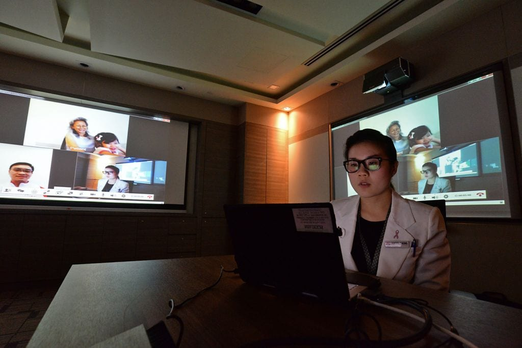 More hospitals to allow patients to see doctors via video
