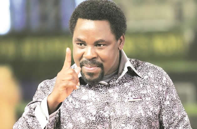 VIDEO: Stop Taking Collection In Churches -TB Joshua to Pastors