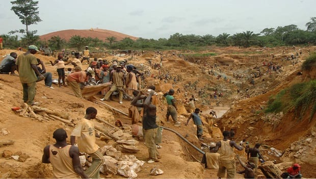 Use Acceptable Ways in Chasing Galamsey Operators-Gov't Warned
