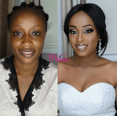 PHOTOS:Before meets After' bridal transformations