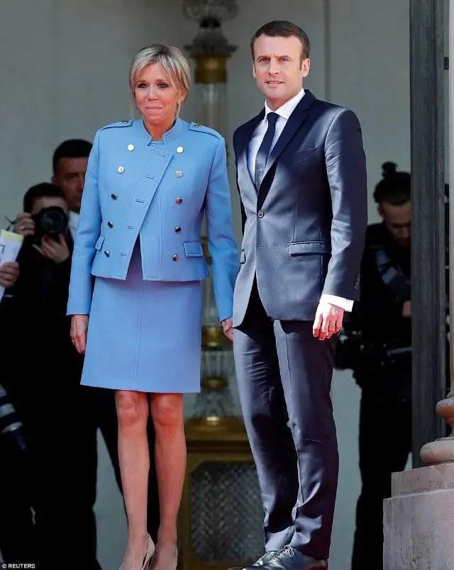 Macron inaugurated at Elysee Palace