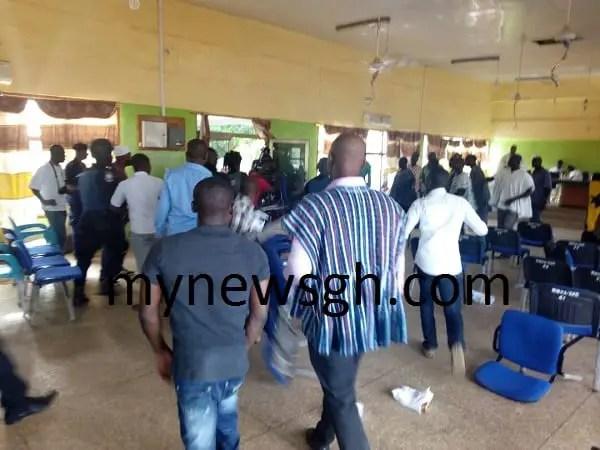 Violence in Walewale over DCE confirmation, assemblymen held hostage