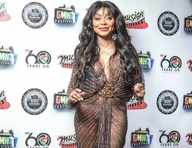 My dress was an illusion; i wore under pant to Ghana Music Honours – Stephanie Benson
