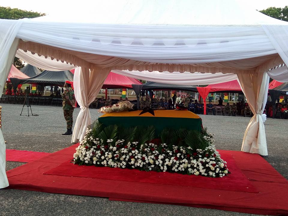 Live updates:Major Maxwell Adam Mahama's Burial