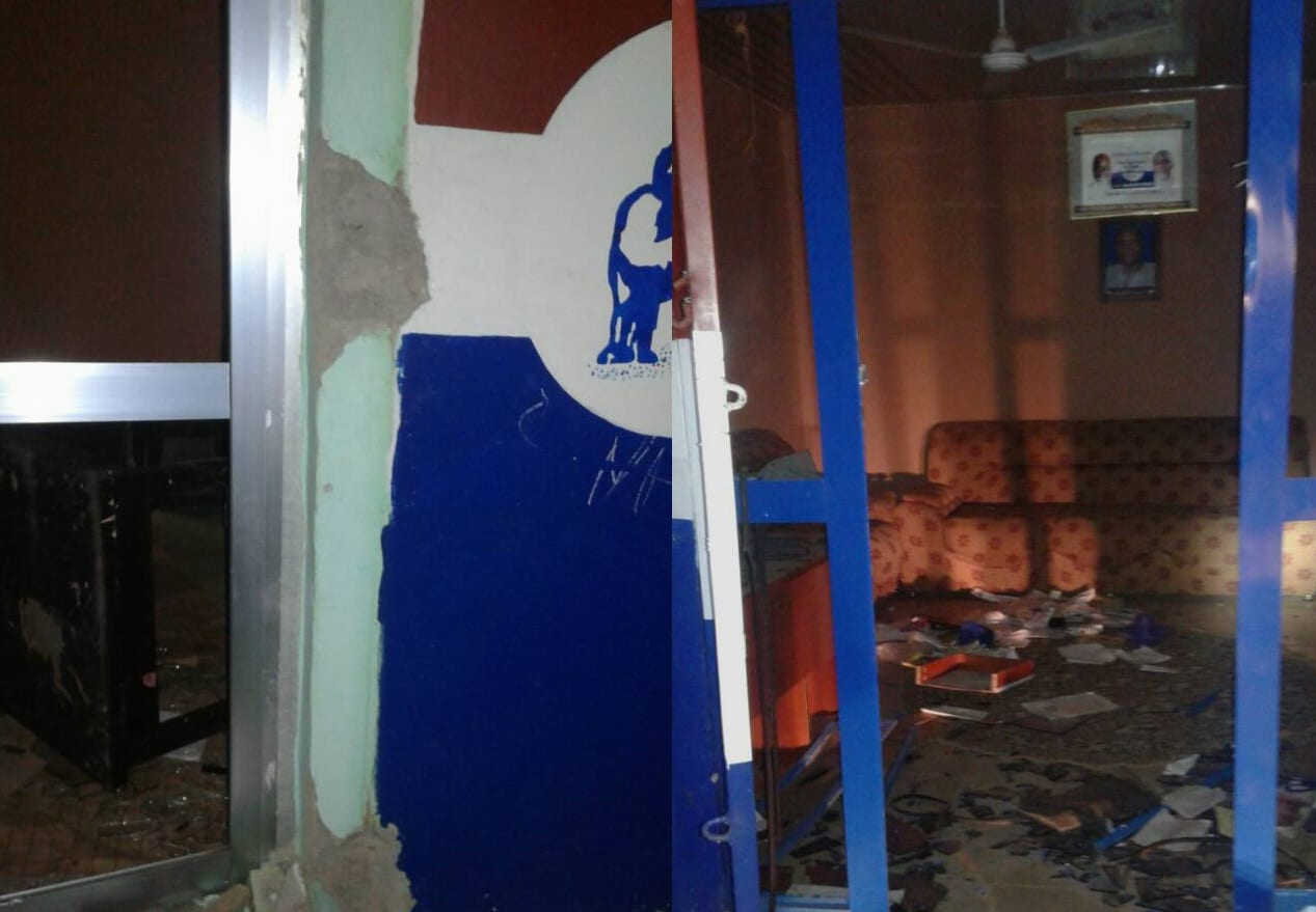 PHOTOS: NPP youth destroy property in Walewale over DCE nomination