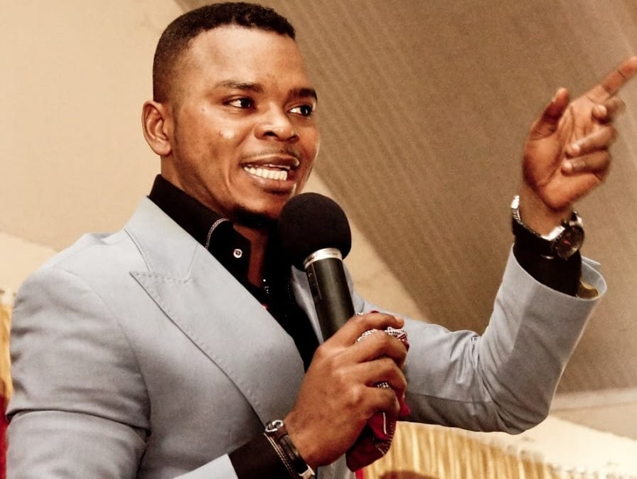 VIDEO: Obinim dashes woman a child from his 'Children warehouse'