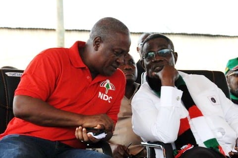 Mahama remembers Mills' death at the commemoration of 5th Anniversary