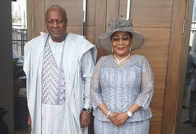 Photos: John Mahama, Lordina Mahama renew marriage vows