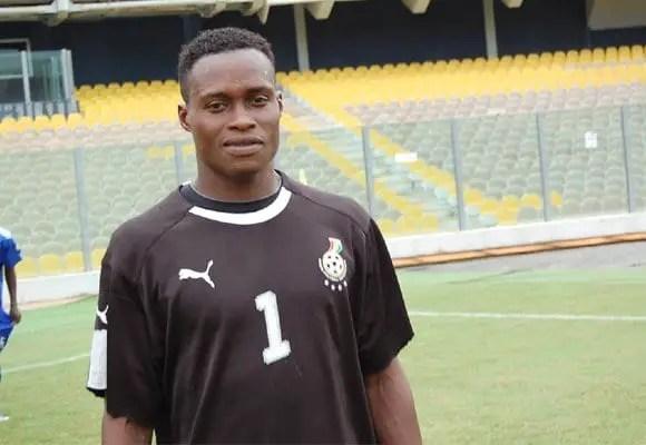 Goalkeeper Sammy Adjei now 'manager' of a public toilet at Labadi
