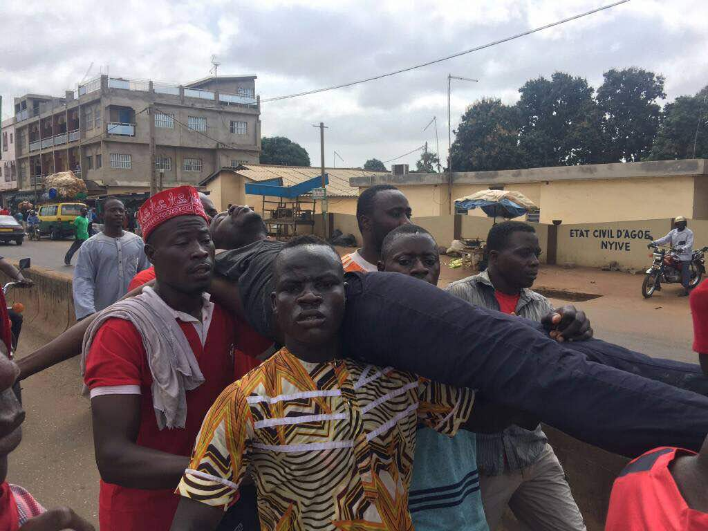 Two killed in Togo in protests against 50-year ruling dynasty