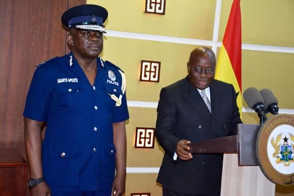 Asante-Apeatu gets 2-year tenure extension as IGP