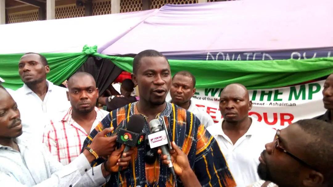 Ashaiman MP backs Assembly's decongestion exercise