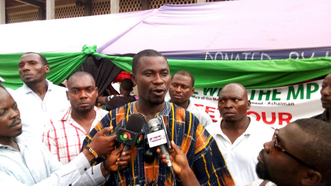 Ashaiman MP backs Assembly's decongestion exercise