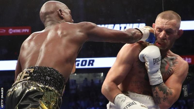 Hilarious Images from the Floyd Mayweather,Conor McGregor fight