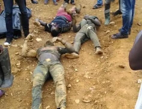 ER:4 illegal miners Killed at Akyim Akukuso