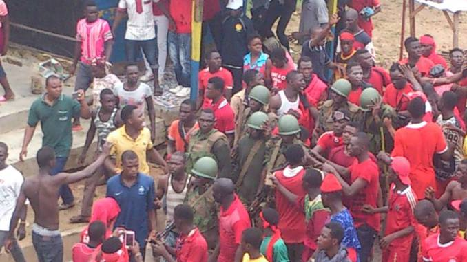 5 anti-government protesters jailed in Togo