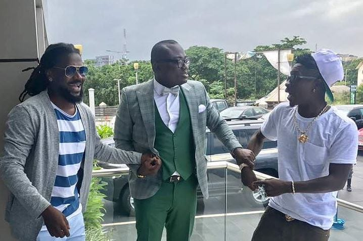 Shatta Wale 'sick' over Bola Ray's G-Wagon birthday gift