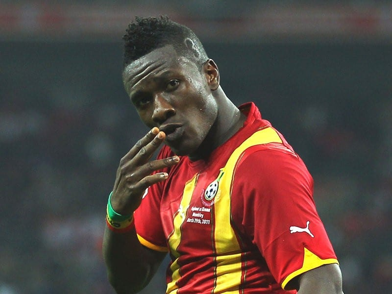 Asamoah Gyan hints of early retirement from football