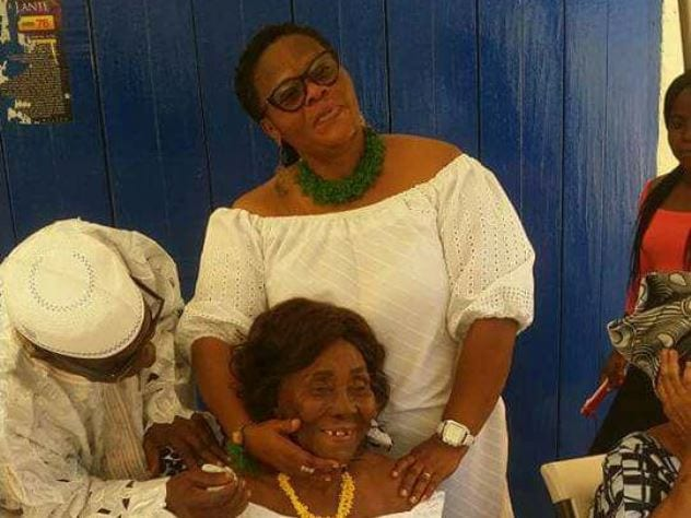 Photo: Rawlings' mother celebrates her 98th birthday in grand style