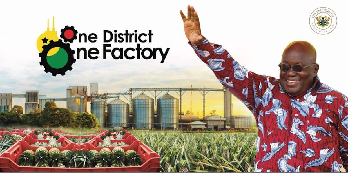 'One district one factory'   hit by land inaccessibility – Minister
