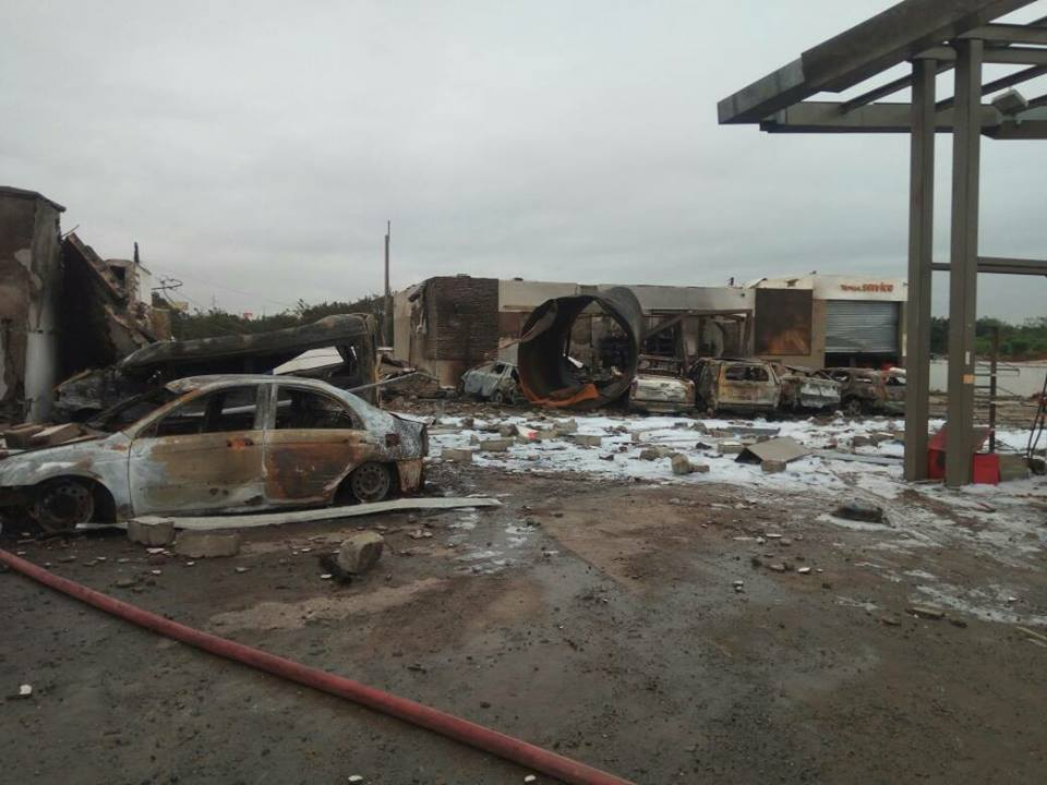 Atomic Junction gas explosion was 'man- made' – NADMO