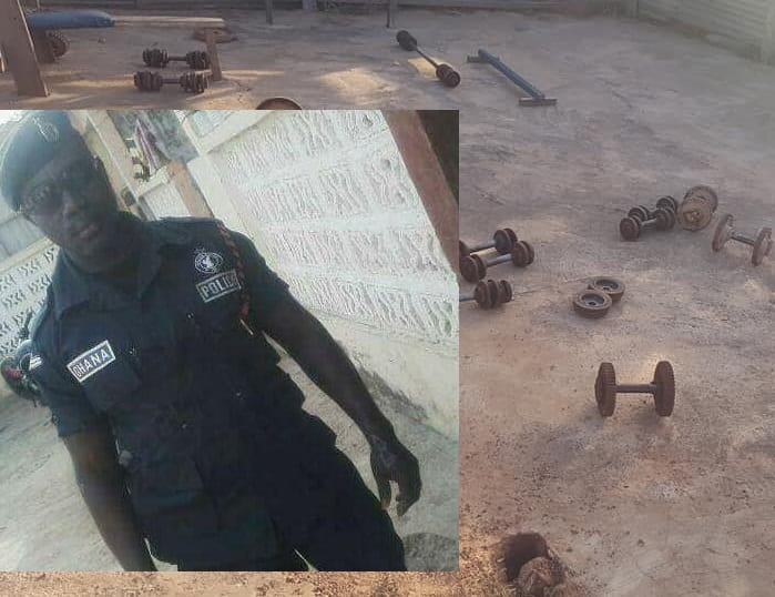 Policeman dies at a gym where he was trying to build his muscles