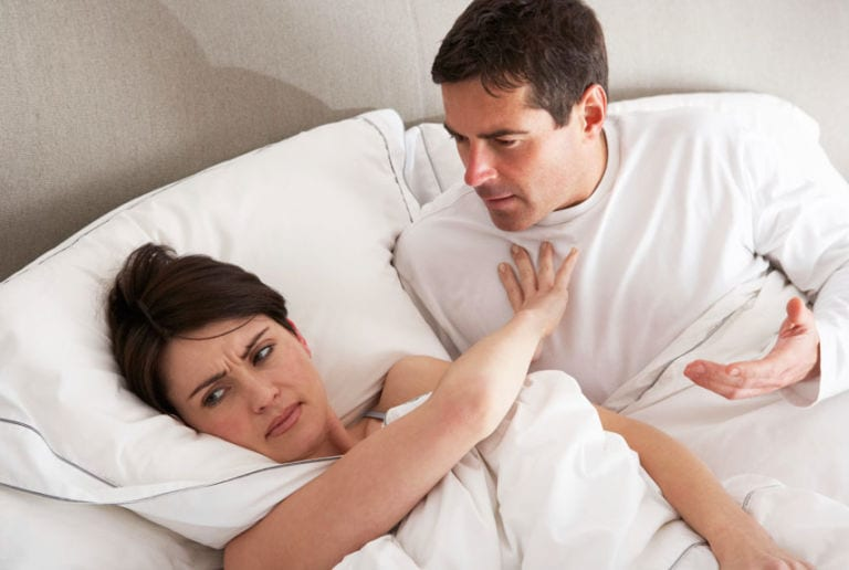 Wife denying sex to husband