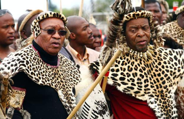 Zulu king calls for caning in schools