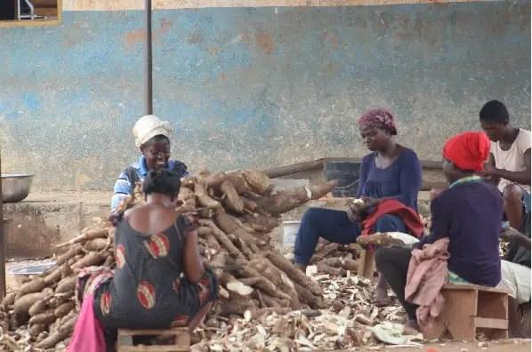 Cassava farmers and gari processors in Asueyi receive training