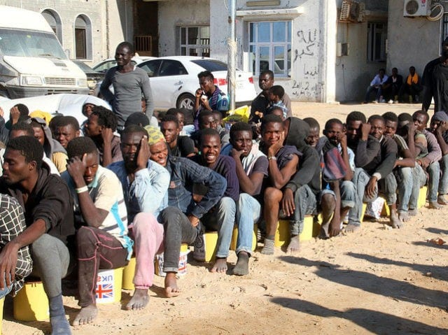 Organs of slaves in Libya mutilated