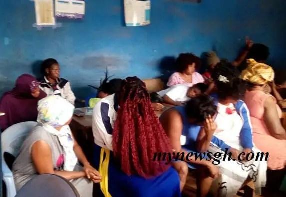 Techiman  Circuit Circuit jails 25 prostitutes