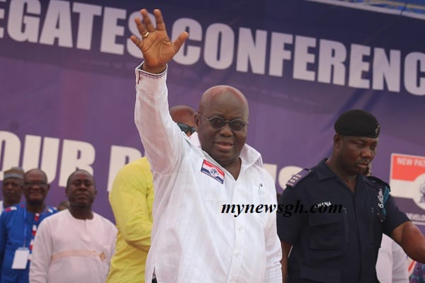 Photos: Akufo-Addo arrives for extraordinary national delegates conference