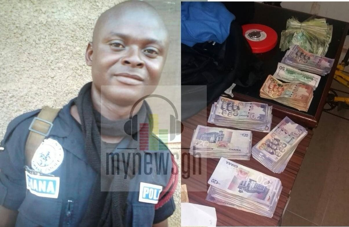 Policeman in Nungua robbery was set to write promotional exams today