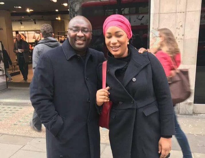 PICTURES: Bawumia and wife walking on the streets of London